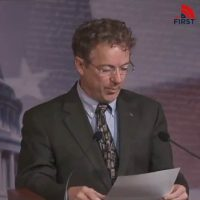 Rand Paul Statement on Coronavirus Test Destroys Media Lies Accusing Him of Risking Other Senators