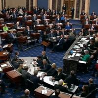 Senate Passes Coronavirus Economic Stimulus Bill In Unanimous Vote
