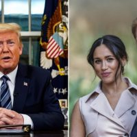 President Trump Rejects Paying For Prince Harry and Meghan Markle's Private Security