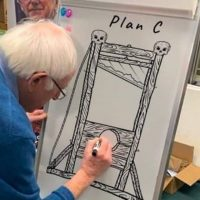Bernie Sanders Supporters Spread Pro-Murder #GUILLOTINE2020 Hashtag Following Campaign Suspension