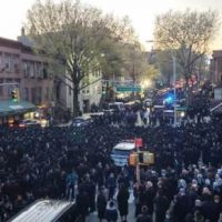 "De Blasio Threatens ""Jewish Community"" With Arrests After Funeral Gathering"