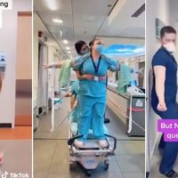 More Bored 'First Responders' Dance for Social Media with Hospitals Empty and No Work to Do