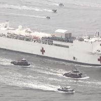 Remember That Hospital Ship NY Desperately Needed? Yeah, Cuomo Now Says It's Not Needed.