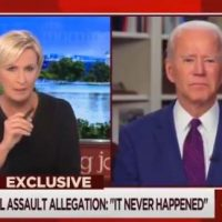 Biden Snaps at Mika Brzezinski When Asked About Unsealing Senate Records to Search For Tara Reade's Name (VIDEO)