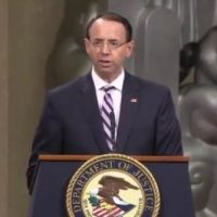 Rosenstein to Appear as First Witness in Senate Judiciary Committee's Investigation Into Origins of Russia Probe Next Week