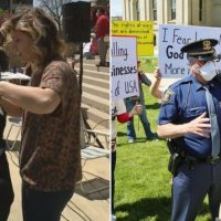 Michigan Cops Issue Misdemeanors, Fines to 'Disorderly Persons' Giving Haircuts at State Capitol