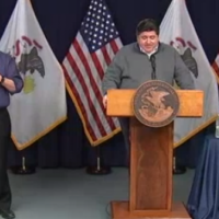 Illinois Gov, Who Doesn't Wear a Mask, Vows to Fight Mask Discrimination