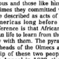 1619 Project Author Claims Africans Visited America Before Columbus, Used Ancient African Technology