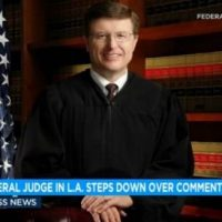 "INSANE: Chief Federal Judge in Los Angeles Resigns After Using 'Racist' Term ""Street Smart"""