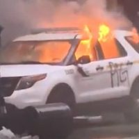 25 Year-Old Woman Arrested For Allegedly Burning Five Police Vehicles During Seattle Riots