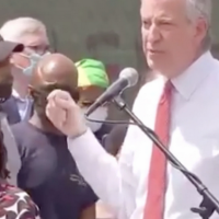 Bill de Blasio Booed off Stage at George Floyd Memorial Event