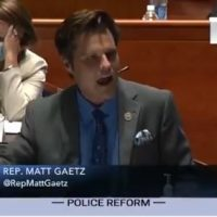 Rep. Matt Gaetz Again Calls Out Democrat Lawmakers on their Support for Radical Anti-Cop Group that Wants to Abolish ICE, Borders and America!