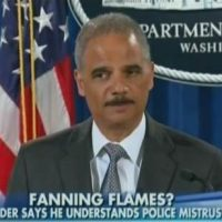 "Eric Holder on Protests: ""We Have Our MOMENT"" for ""Sweeping Changes"""