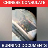 Chinese Nationals Caught Burning Documents Shortly After US Orders China Consulate in Houston Closed Due to Espionage and Theft