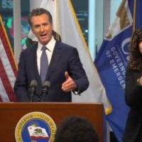 Gavin Newsom gives Californians a glimpse of their future