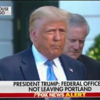 President Trump Warns Portland on Antifa-BLM Attacks on Federal Courthouse: Clean Out Your City or Feds Will