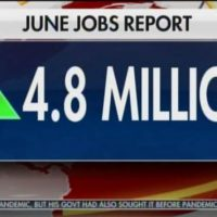 JOBS JOBS JOBS – Happy 4th of July! US Sets Record for Most New Jobs in a Month Ever! 4.8 Million Jobs Created in June!