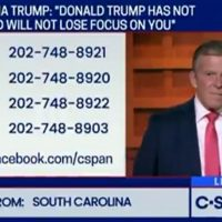 C-Span Flooded With Callers Leaving The Democrats To Vote For Trump In 2020 (VIDEO)