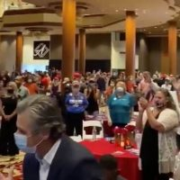 """Evangelicals For Trump"" Holds Event in Las Vegas Casino Amid Nevada Ban on Gatherings of More Than 50 People in Houses of Worship (VIDEO)"