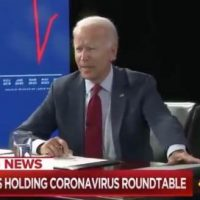 WATCH: Joe Biden's Handlers Swiftly Move in to Protect Biden, KICK OUT Reporters From Biden-Harris Coronavirus Briefing