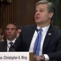 GOP Sen. Ron Johnson Subpoenas FBI Director Wray For All Records Related to Crossfire Hurricane