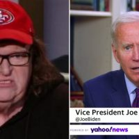 "Leftist Michael Moore Chides Joe Biden for Pursuing ""White Racist Redneck Votes in Michigan"""