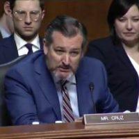 Ted Cruz Blocks 'Partisan' Senate Resolution Honoring Ruth Bader Ginsburg, Shreds Schumer