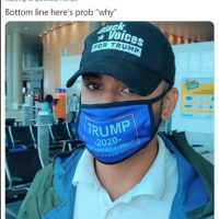 Black Trump-supporter wearing 'Black voices for Trump' hat booted from Southwest Airlines flight after lowering his MAGA mask to eat peanuts