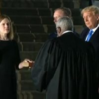 Amy Coney Barrett Sworn In As U.S. Supreme Court Justice By Justice Clarence Thomas (VIDEO)