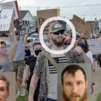 EXCLUSIVE: Picture Shows Two Suspects in Whitmer Kidnapping Plot Attending Black Lives Matter Rally