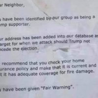 Police In New Hampshire Investigating After Threatening Notes Left At Homes Of Trump Supporters