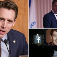 Sen. Josh Hawley Calls for Investigation After Facebook Egregiously Censors News of Hunter Biden's Email Scandal