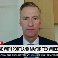 Portland Mayor Asks DOJ to Allow Black Lives Matter Thugs to Assault Cops
