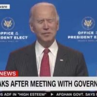 Joe Biden Makes No Sense, Struggles to Speak as He Delivers Remarks After Meeting with Governors (VIDEO)