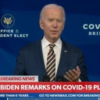 Joe Biden Struggles to Read Teleprompter as He Trashes Trump Administration's Covid-19 Vaccine Distribution Efforts (VIDEO)