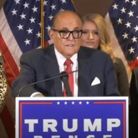 Rudy Giuliani Says Nation Is Going To Find Out Some 'Shocking' News About The Election After Christmas (VIDEO)