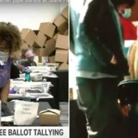SHOCKING NEW VIDEO Appears to Show Georgia Poll Workers Exchanging a USB Drive During Ballot Counting