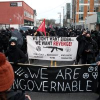 Portland ANTIFA Runs Wild as Biden Inaugurated – Attacking Oregon Democratic Party HQ!