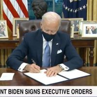 Biden Signs 3 Executive Orders: Mask Mandate and Social Distancing on Federal Property, Racial Equity, Rejoins Paris Climate Accord (VIDEO)