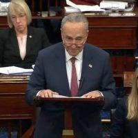 "Schumer Calls for Trump to be ""Immediately Removed From Office"" by Impeachment or 25th Amendment"