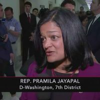 Rep. Pramila Jayapal Falsely Blames Republicans for Positive Coronavirus Test