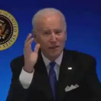 White House Live Feed Cuts Off When Puppet Biden Offers To Answer Questions (VIDEO)